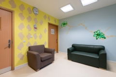 Shingle Street Beach, Hospital Rooms Commission, Woodlands Unit, Ipswich NHS, 136 Suite, Installation Acrylic and Acrylic Ink on Walls, 2018