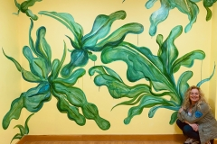 'Water Dance', Installed in St Charles Hospital NHS, Shannon Ward
