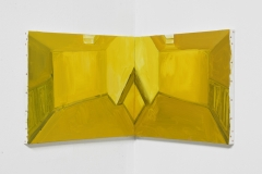 'Mirror Writing' Diptych 92 x 38 cm Oil on Linen 2017