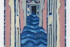 'Ravello Doors', Acrylic on Arches Paper, 78 x 98cm, 2017